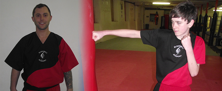 Fighting Kit, which forms part of the Mini Kit package including a Training T' Shirt - Kids £45 / Adults £50