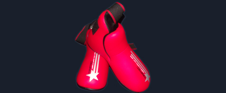 Footpads Red (All Sizes) - £30.00