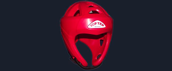 Top Ten Head Guard Red - £60
