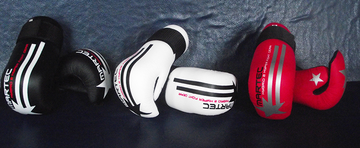 Points Gloves (All Sizes) Available in Red, White & Black - £30.00