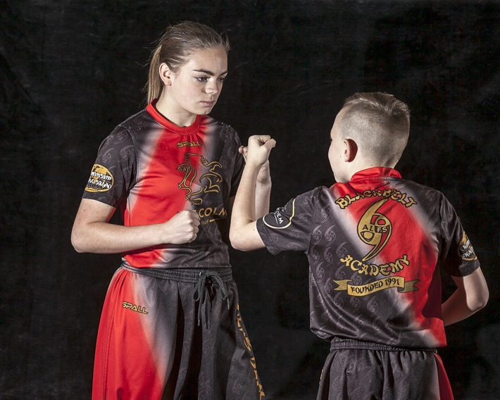 Academy Fighting Suit Students aged 11 and under